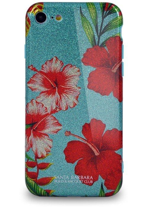 Чехол для iPhone 7 Santa Barbara Tropica (Hibiscus Sky)