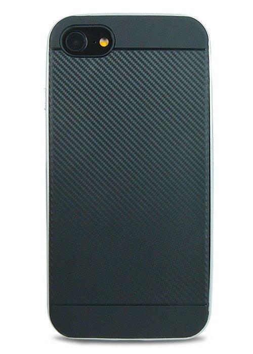 Чехол для iPhone 7 SGP Карбон (Серебро)