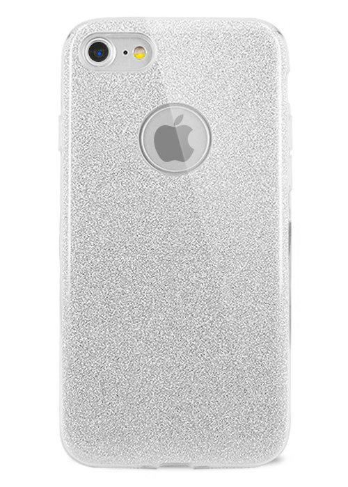 Чехол для iPhone 7 Sheer New силикон (Серебро)