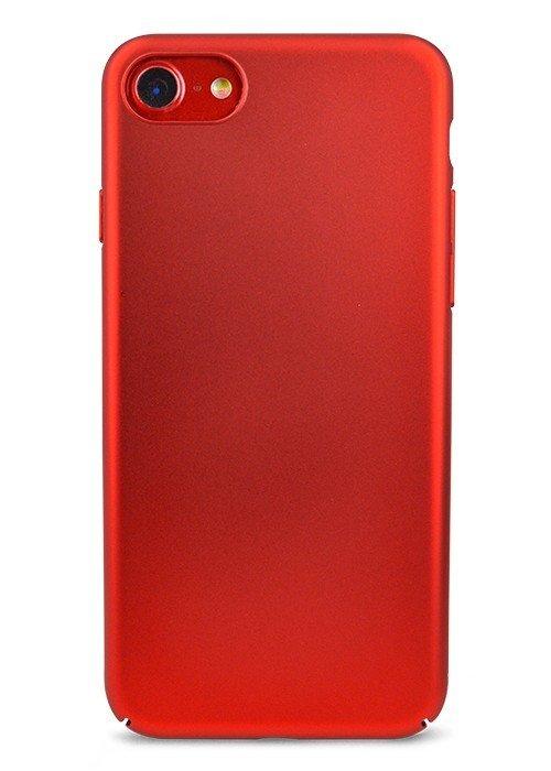 Чехол для iPhone 7 Soft plastic (Красный)
