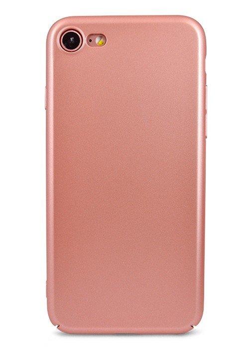 Чехол для iPhone 7 Soft plastic (Розовый)