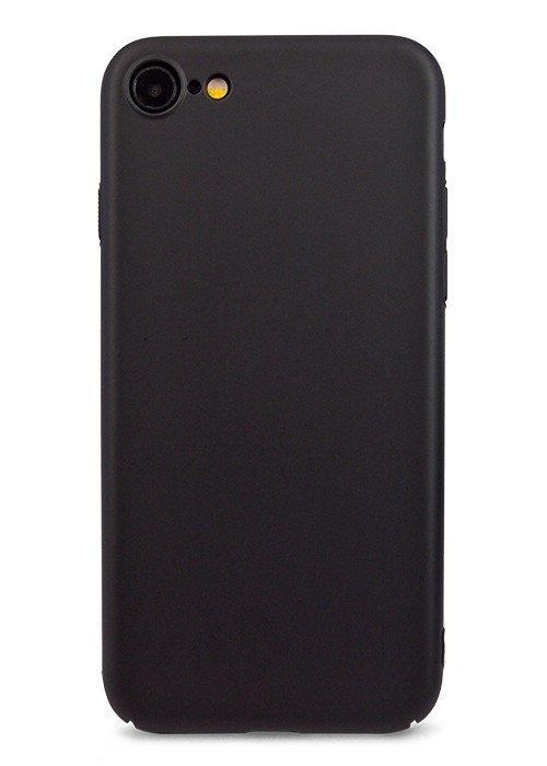 Чехол для iPhone 7 Soft plastic (Черный)