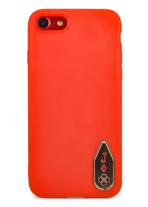 Чехол для iPhone 7 Totu Poker Case силикон (Красный)