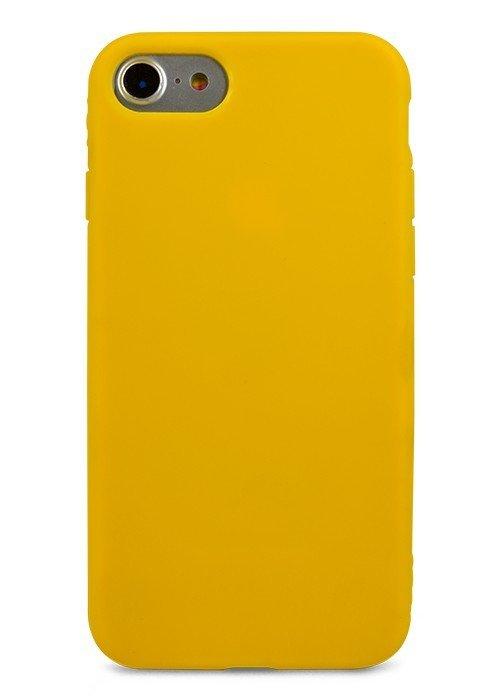 Чехол для iPhone 7 TPU Matte (Желтый)