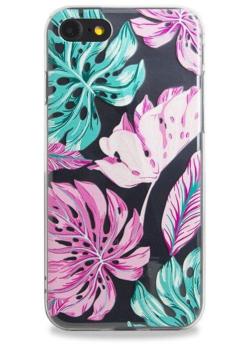 Чехол для iPhone 7 Tropic (Листья)