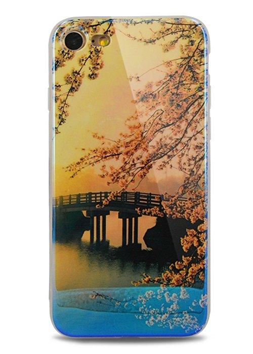Чехол для iPhone 7 Ultramarine (Сакура)