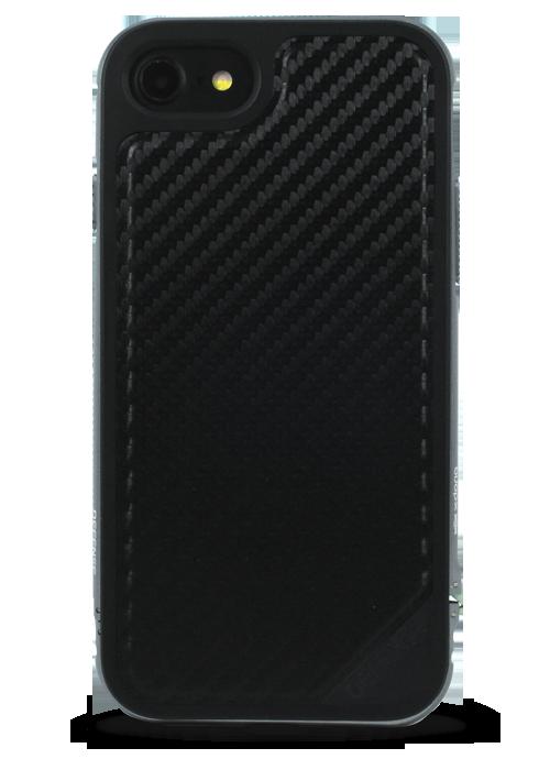 Чехол для iPhone 7 X-Doria Defense Lux (Черный карбон)