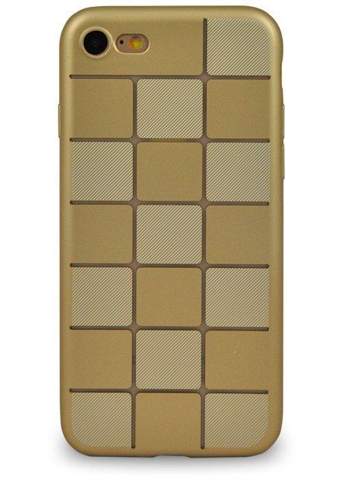 Чехол для iPhone 7 Абстракция (Золотая плитка)