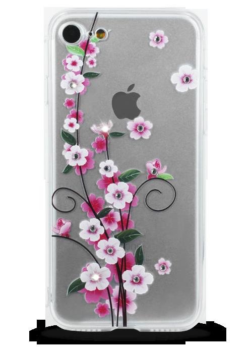 Чехол для iPhone 7 Воздушность (Сакура)