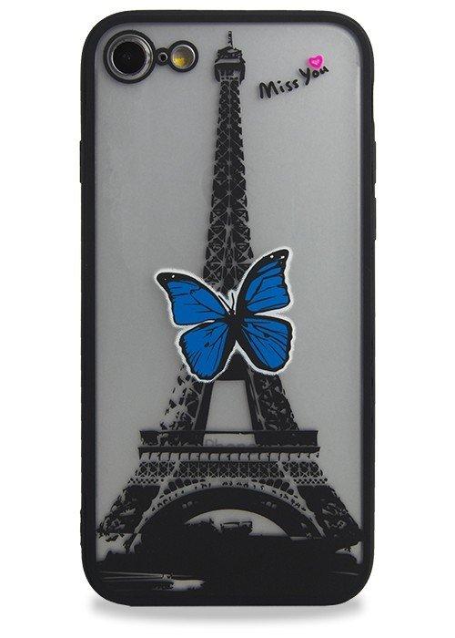 Чехол для iPhone 7 Гипюр (Париж)