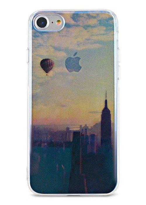 Чехол для iPhone 7 Закат (New-York)
