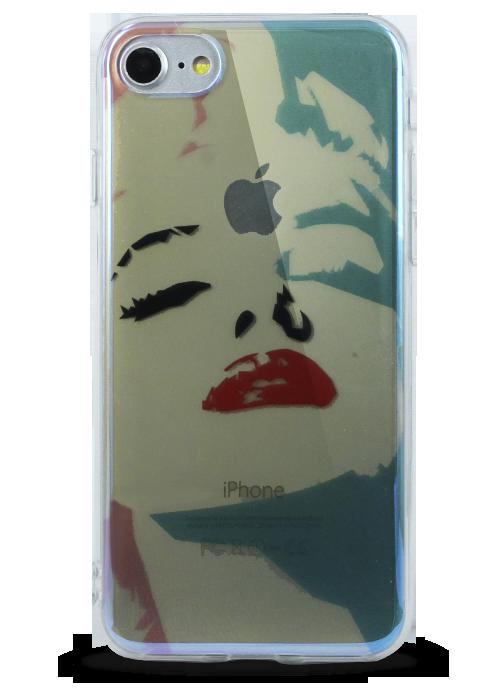 Чехол для iPhone 7 Закат (Монро)