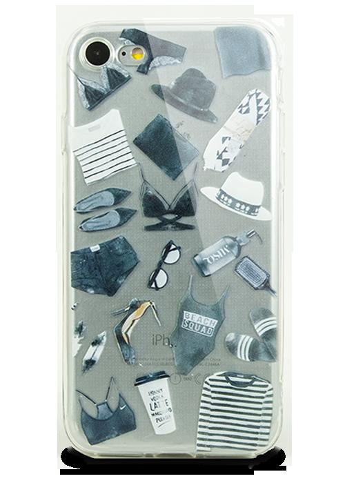 Чехол для iPhone 7 Молодость (Shopping)