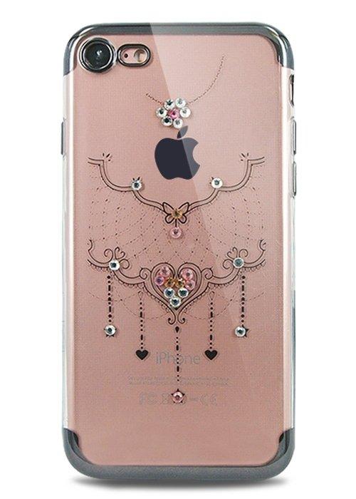 Чехол для iPhone 7 Украшение (Ожерелье черный)