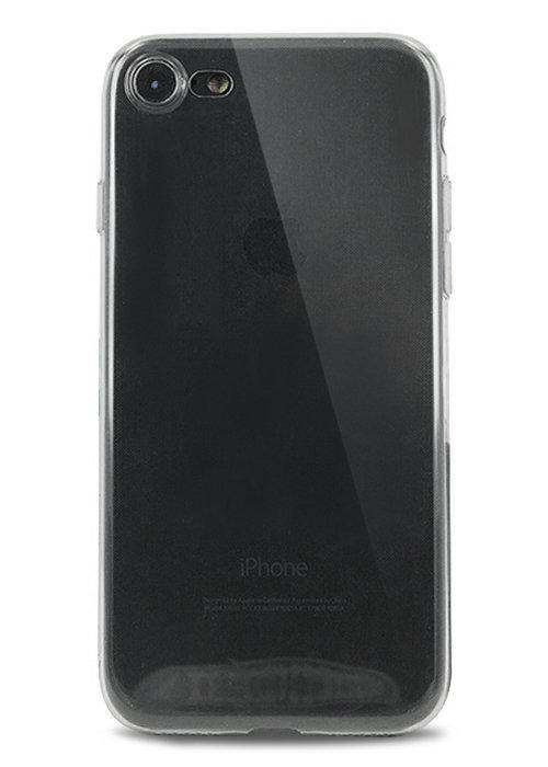 Чехол для iPhone 7 Ультратонкий силикон Premium (Черный)
