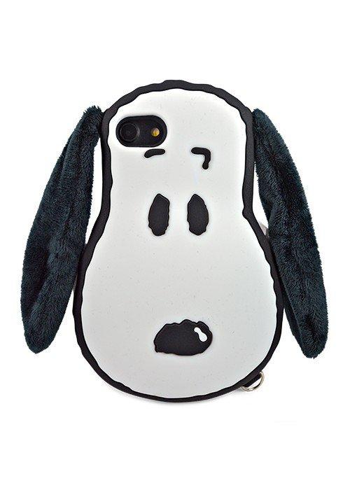 Чехол для iPhone 7/6 Snoopy (Белый)