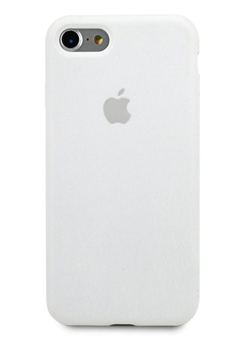 Чехол для iPhone 7/8 Apple Silicone Case 360 (Белый)