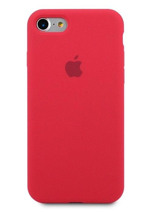 Чехол для iPhone 7/8 Apple Silicone Case 360 (Вишневый)