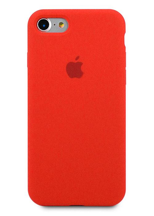 Чехол для iPhone 7/8 Apple Silicone Case 360 (Красный)
