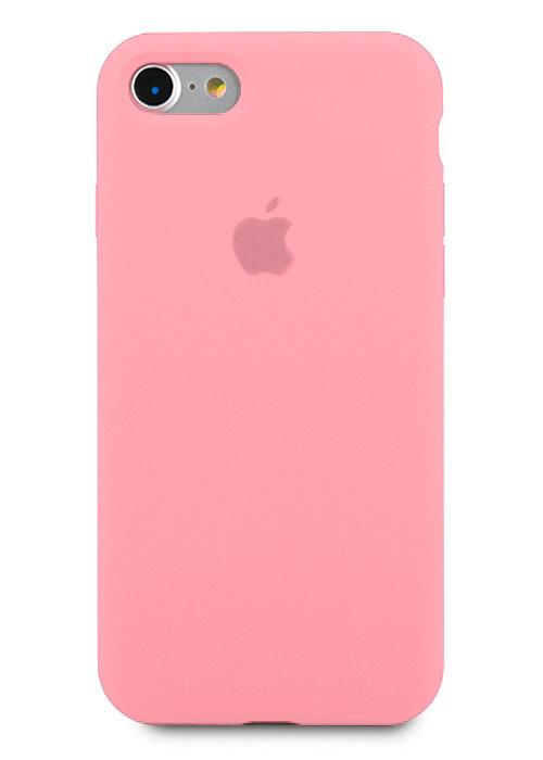Чехол для iPhone 7/8 Apple Silicone Case 360 (Розовый)