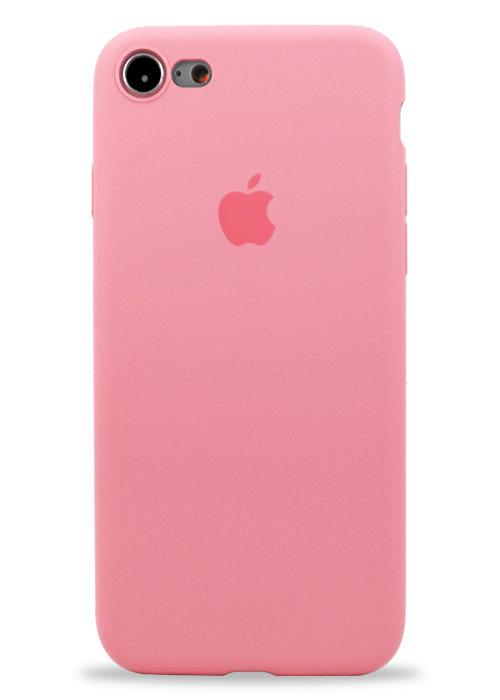 Чехол для iPhone 7/8 Apple Silicone Case 360 ультратонкий (Розовый)