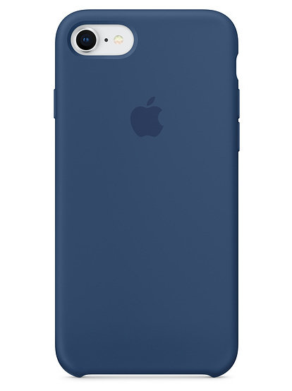 Чехол для iPhone 7/8 Apple Silicone Case Lux (Blue Cobalt)