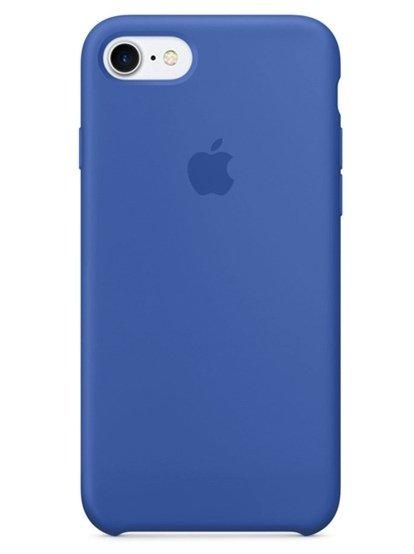 Чехол для iPhone 7/8 Apple Silicone Case Lux (Cosmos Blue)