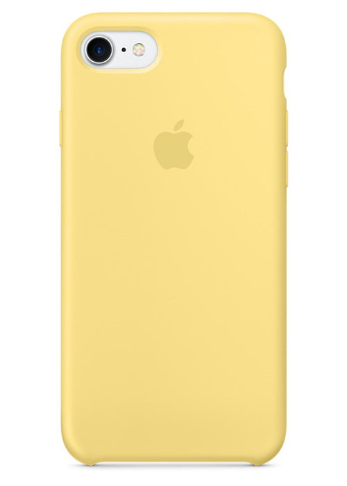 Чехол для iPhone 7/8 Apple Silicone Case Lux (Lemonade)