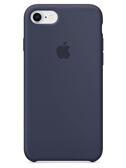 Чехол для iPhone 7/8 Apple Silicone Case Lux (Midnight Blue)