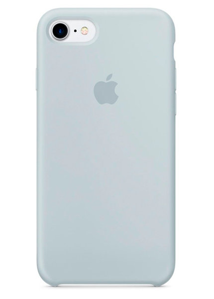 Чехол для iPhone 7/8 Apple Silicone Case Lux (Mist Blue)