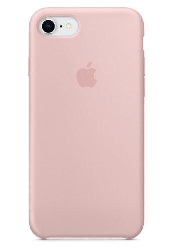Чехол для iPhone 7/8 Apple Silicone Case Lux (Pink Sand)