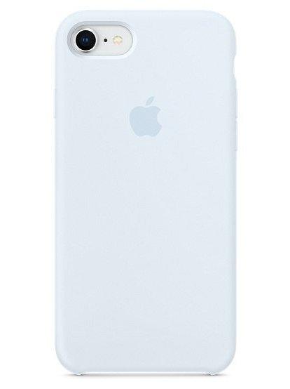 Чехол для iPhone 7/8 Apple Silicone Case Lux (Sce Blue)