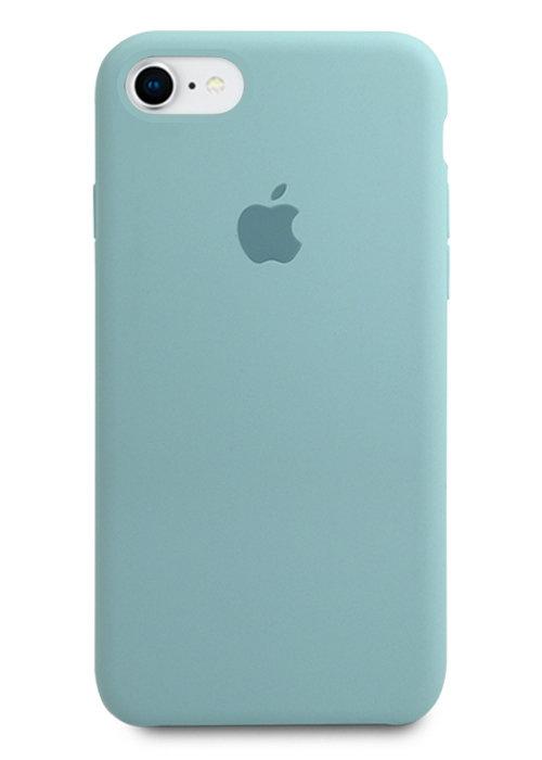 Чехол для iPhone 7/8 Apple Silicone Case Lux (Sky Blue)