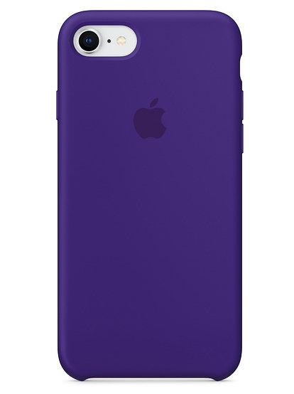 Чехол для iPhone 7/8 Apple Silicone Case Lux (Ultra Violet)