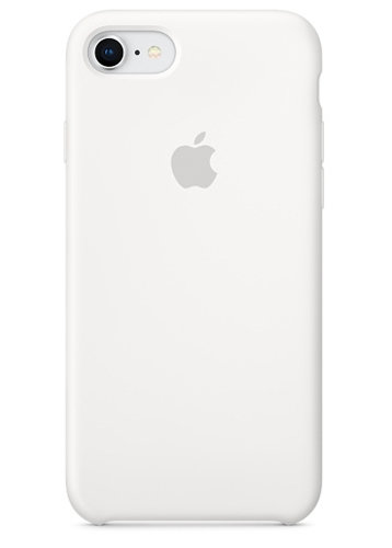 Чехол для iPhone 7/8 Apple Silicone Case Lux (White)