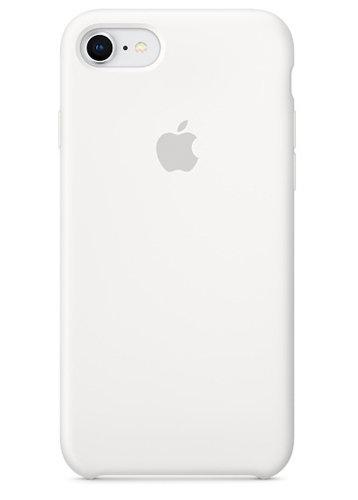 Чехол для iPhone 7/8 Apple Silicone Case Simple (Белый)