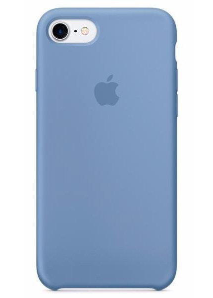 Чехол для iPhone 7/8 Apple Silicone Case Simple (Голубой)