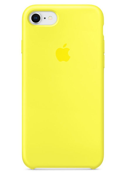 Чехол для iPhone 7/8 Apple Silicone Case Simple (Желтый)
