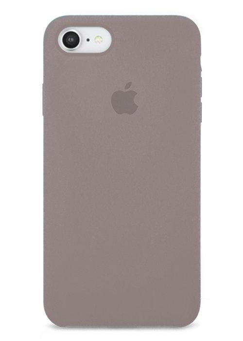 Чехол для iPhone 7/8 Apple Silicone Case Simple (Каменный серый)