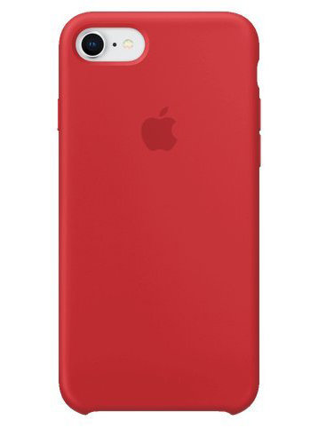 Чехол для iPhone 7/8 Apple Silicone Case Simple (Красный)