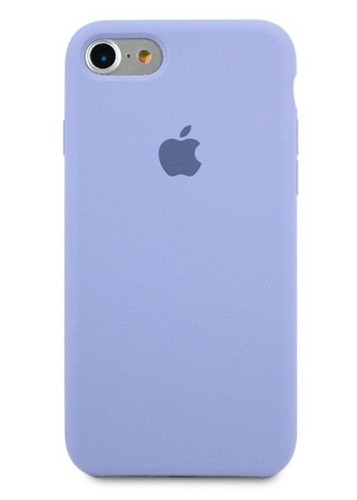 Чехол для iPhone 7/8 Apple Silicone Case Simple (Лавандовый)