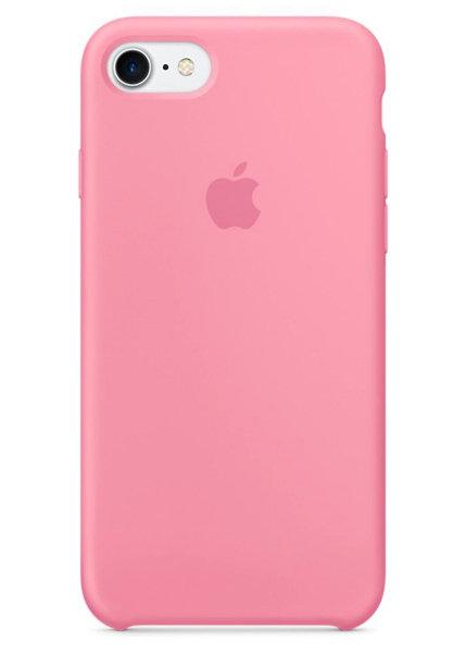 Чехол для iPhone 7/8 Apple Silicone Case Simple (Розовый)