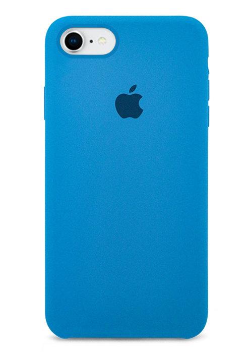 Чехол для iPhone 7/8 Apple Silicone Case Simple (Синий)