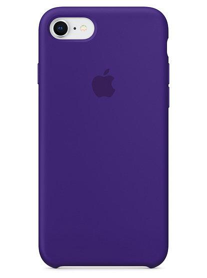Чехол для iPhone 7/8 Apple Silicone Case Simple (Фиолетовый)