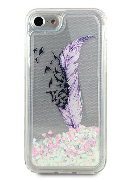 Чехол для iPhone 7/8 Beauty shine силикон (Live your dream)