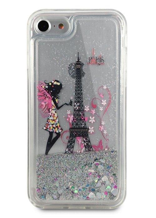 Чехол для iPhone 7/8 Beauty shine силикон (Paris)