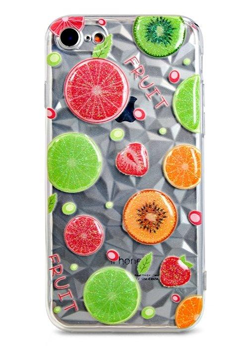 Чехол для iPhone 7/8 Crystal picture (Fruit)