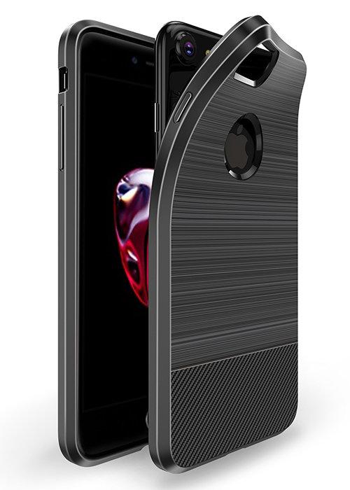 Чехол для iPhone 7/8 Dux Ducis с магнитом (Черный)