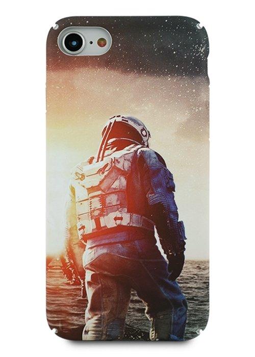 Чехол для iPhone 7/8 Freestyle PC (Космонавт)