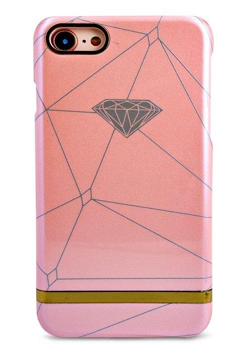 Чехол для iPhone 7/8 I love my phone (Pink Diamond)